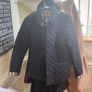 Burberry quilted jacket authentic size L
